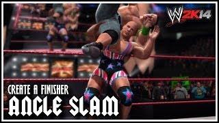 WWE 2K14 Alternative Angle Slam! (Create A Finisher