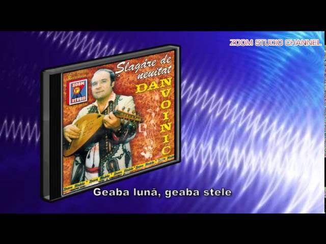 DAN VOINIC - ALBUMUL SLAGARE DE NEUITAT, ZOOM STUDIO