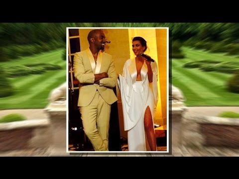 Kim Kardashian, Kanye West Host Luxurious Wedding