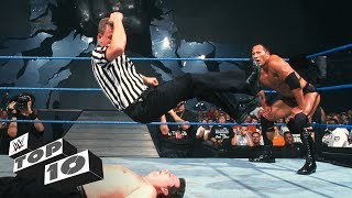 When referees fight back - WWE Top 10