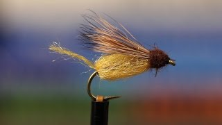 Tying A Sparkle Emerger Fly