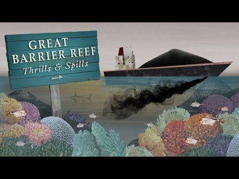 Great Barrier Reef: Thrills and spills