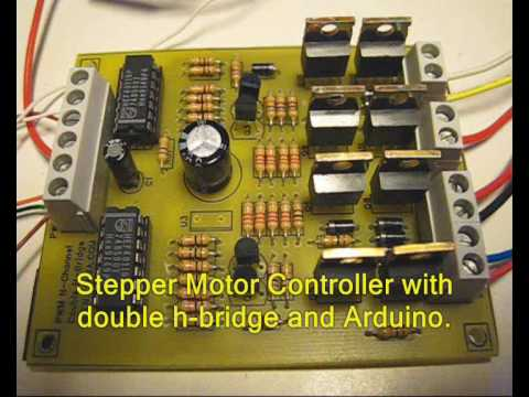 Arduino stepper motor controller bipolar first test for How to test stepper motor