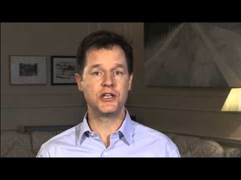 International Women's Day: message from Nick Clegg