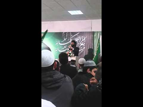 Mufti hanif qureshi in UK first bayaan