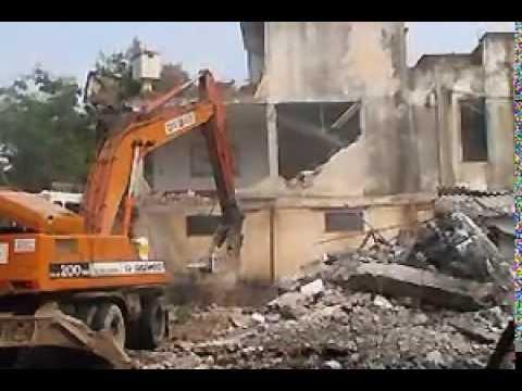 Giải pháp phá dỡ kết cấu nhà, Phá Dỡ Công Trình