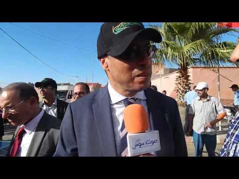 صوت سوس مع عبد القادر عمارة وزير الطاقة والمعادن والماء والبيئة بمدينة بنجرير