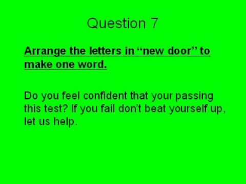 common sense test How dumb are you the am i dumb test is a free intelligence test that will reveal your true intelligence common sense sports question group #1: 1).