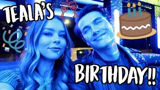 TEALA'S BIRTHDAY! VLOGMAS DAY 8!