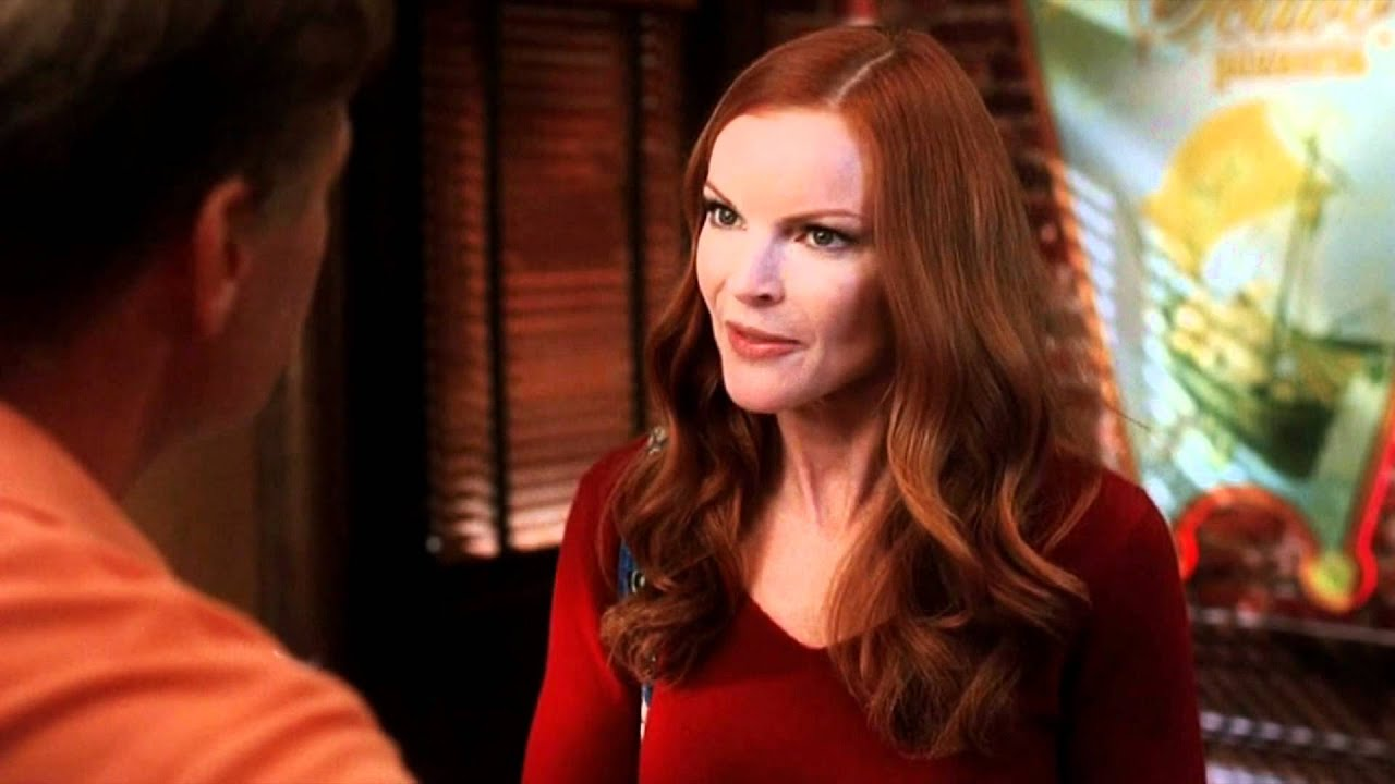 Marcia Cross en jesse james