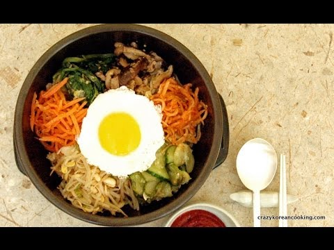 How to make Dolsot Bibimbap (Authentic Bibimbap recipe), Beef Bibimbob ...
