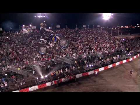 Cameron Sinclair pulls Double Backflip at Red Bull X-Fighters