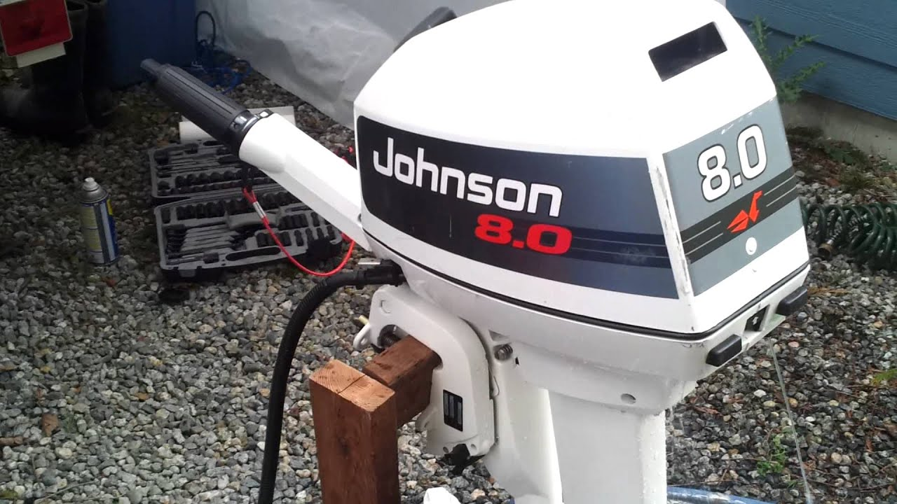 1993 Johnson 8 Hp 2 Youtube
