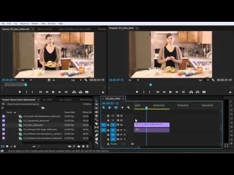 Adobe Premiere cc Editing in the Timeline, Part One class 9