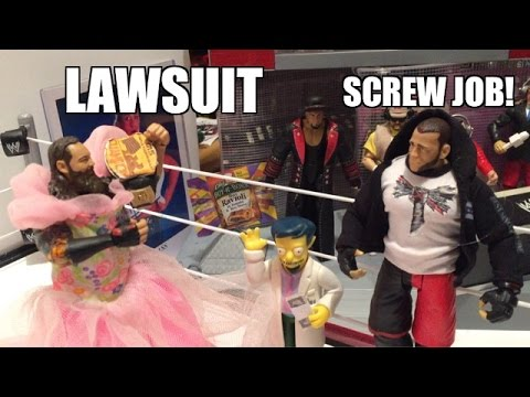 GTS WRESTLING: Tag Title TURMOIL! WWE Figures Matches ANIMATION PPV EVENT! Mattel Elites!
