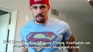 Superman Bicep Flexing: Samson Hero Volume 2 Bodybuilder