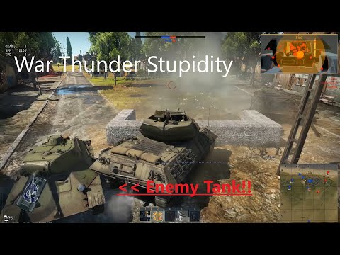 Armored Stupidity - War Thunder Funny Moments
