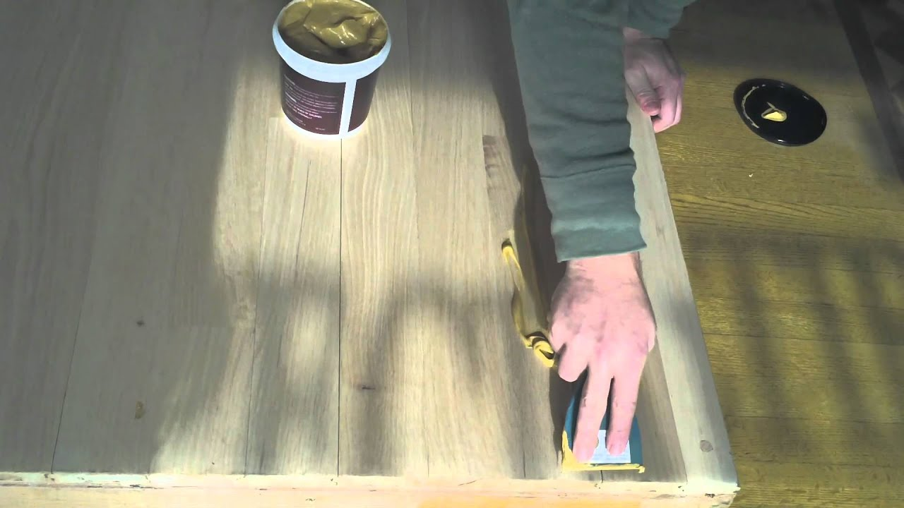 Dura Seal Wood Patch Youtube