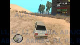 Claves GTA San Andreas PS2