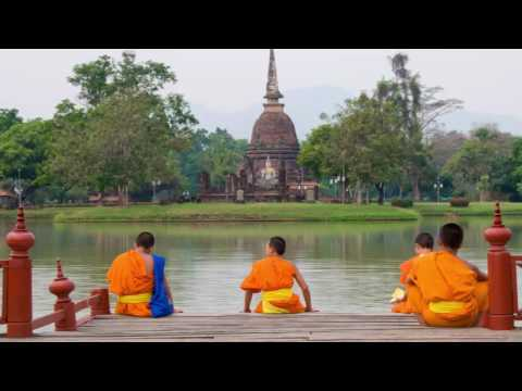 Tibetan Monks Chants | Asian Spiritual Sounds of Tibetan Bowls and Meditation Music