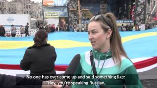 Russian speakers terrorized? Ukrainians speak up