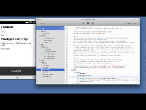 WebIDE in Firefox Nightly - June 2014