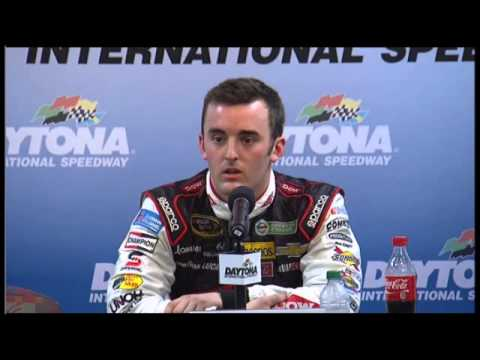 Hamlin Dillon NASCAR Daytona 500 Post Race  Video