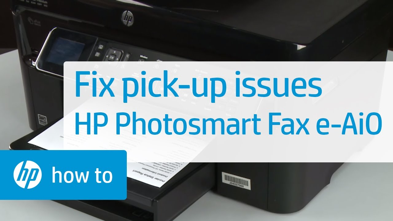 how to set up fax on hp printer