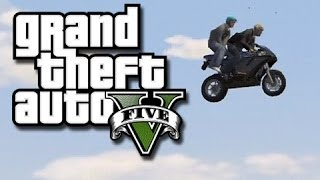 GTA 5 Online Funny Gameplay Moments! #13 (Shadow's Large Thing and Fence-Car Glitch!)