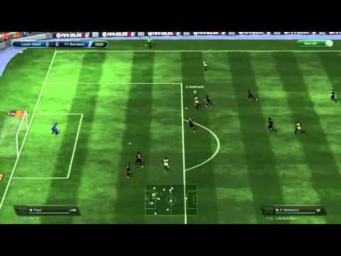 InfoGame.vn - FIFA Online 3 - Hướng dẫn kỹ thuật ngoặc bóng 90 độ
