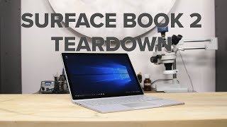 Microsoft Surface Book 2 Teardown!