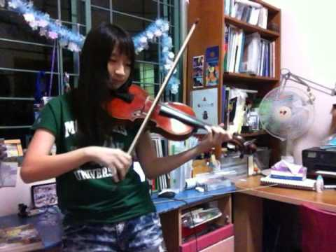 Violin: Disney's FROZEN- For the First Time in Forever ~M DRAKO