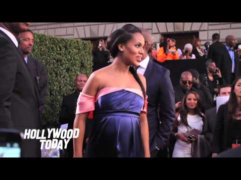 Oprah Winfrey and a Pregnant Kerry Washington at NAACP Image Awards