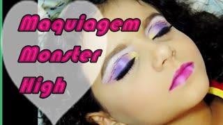 Maquiagem Da Monster High Clawdeen Isabela