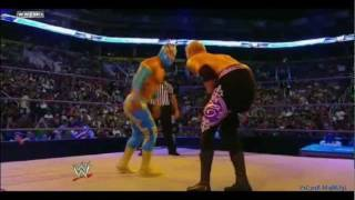 WWE Smackdown ★ Sin Cara Vs Christian 7/1/11
