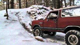 Amazing Rc Car Driving In The Snow Looks Real