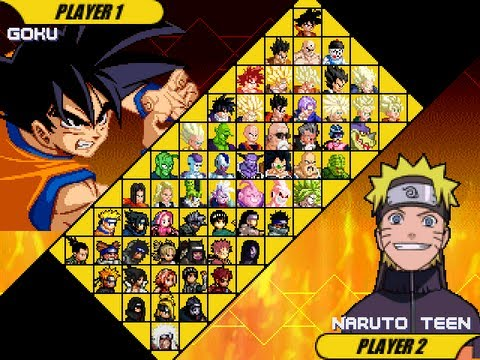 Dragon Ball Z Vs Naruto Sagas