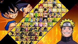 Game | Dragon Ball Z vs Naruto Mugen edition by Ristar87 | Dragon Ball Z vs Naruto Mugen edition by Ristar87