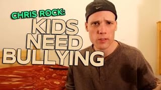 [Chris Rock Kids Need Bullying - Comedians In Cars Getting Coffee] Video