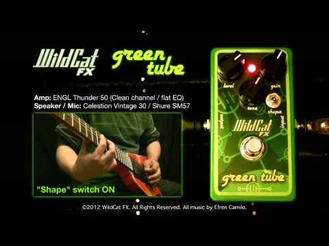 WildCat FX Green Tube DEMO