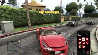 GTA V PS3 Gameplay / Walkthrough / Playthrough / 1080P