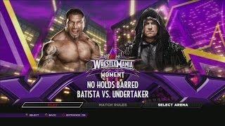 "WWE 2K14 Defeat The Streak ""Batista"" [CRAZY MATCH"