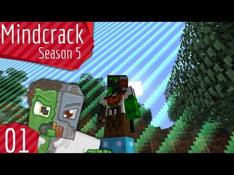 Borderlands and Fancy Pants! - Mindcrack Server Season 5 - Episode 1