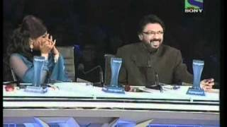 X Factor India - Sonu Nigam imitates Judge Gurus Sanjay & Shreya- X Factor India - Episode 25 - 6th