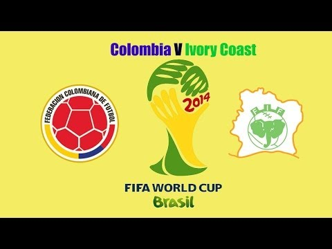 Brazil World Cup 2014-Colombia V Ivory Coast after game analysis