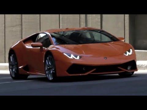 2015 Lamborghini Huracan Spy Footage