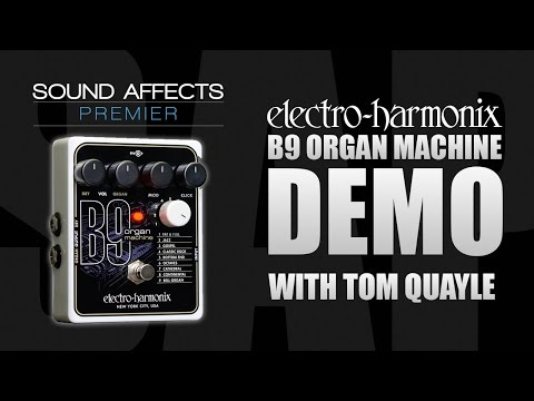 Electro Harmonix B9 Organ Machine Guitar Effects Pedal