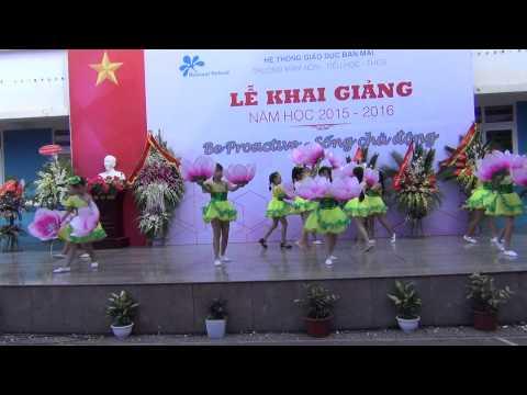 Múa: CA NGỢI TỔ QUỐC  - Lễ khai giảng năm học 2015-2016 tại Ban Mai