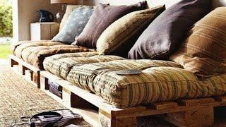 Ideas para manualidades y reciclar palets de madera