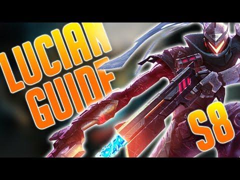 Lucian ist ein Biest als ADC und in der Midlane! | LoL Guide Season 8